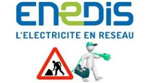 Coupure d'électricité le 23 janvier ZA Porte de Chambaran