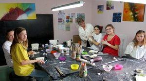 Atelier découverte de la peinture abstraite