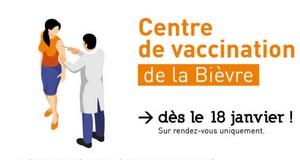 Ouverture d'un centre de vaccination COVID-19
